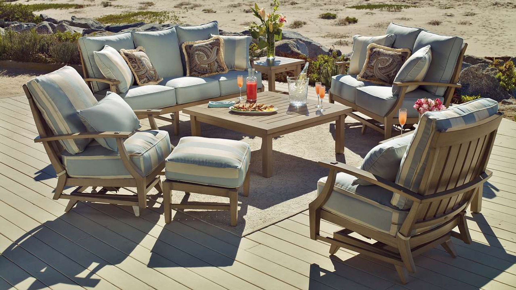 Collections Croquet Seating Pacific Patio Furniture