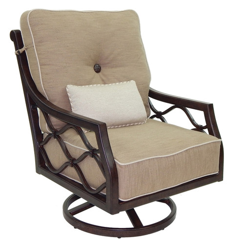 Villa Bianca High Back Lounge Swiveling Rocker