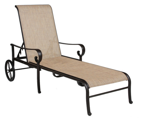 Santa Barbara Sling Adjustable Chaise
