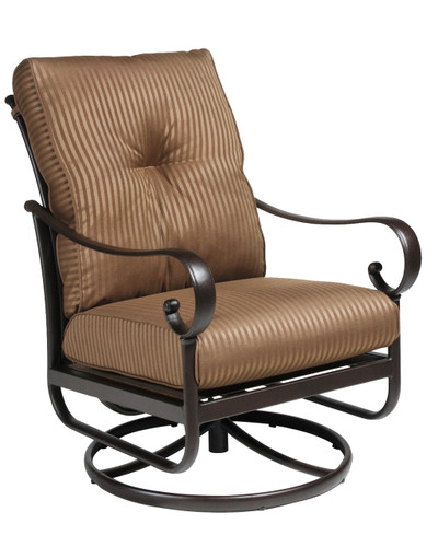 Santa Barbara Club Swiveling Rocker