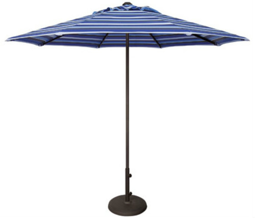 Treasure Garden 9ft Manual Lift Octagon Commercial Umbrella