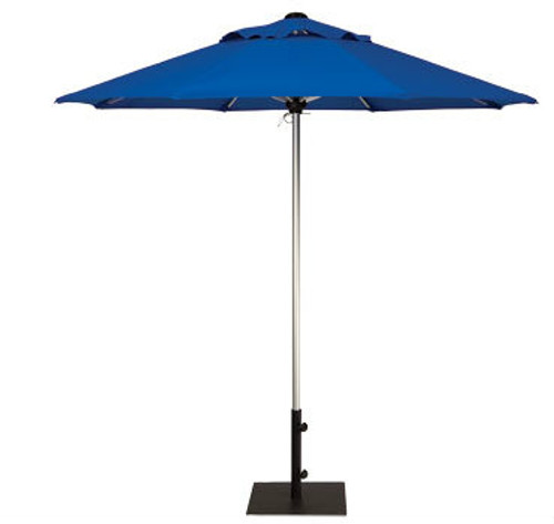Treasure Garden 7.5ft Manual Lift Octagon Commercial Umbrella