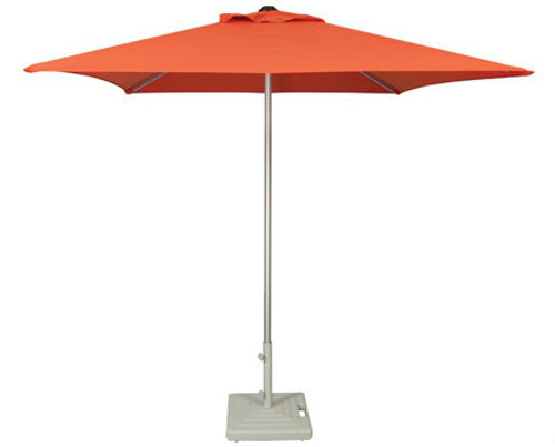 Treasure Garden 7ft Manual Lift Square Commercial Umbrella
