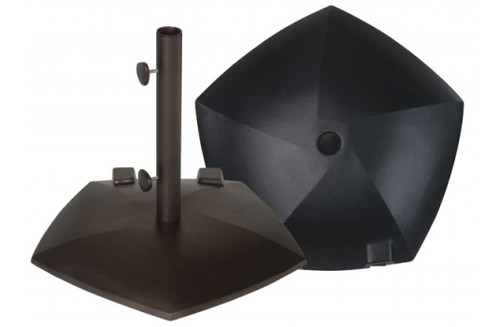 Treasure Garden Pentagon Umbrella Base with Wheels