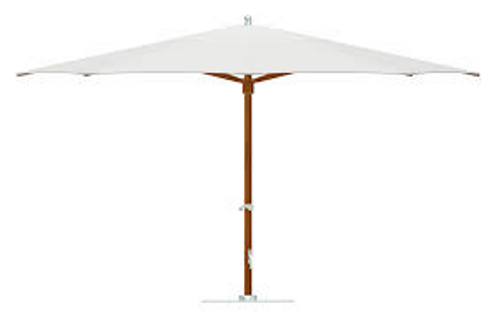 Tuuci 12ft Square Plantation MAX Classic Umbrella