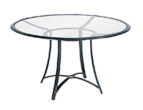 Aegean 48 inch Round Umbrella Table