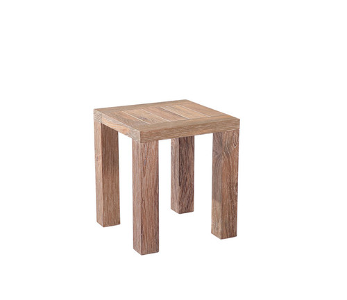 Rio Weathered Teak Side Table