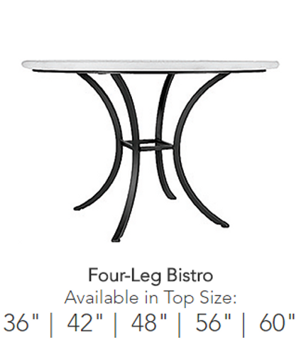 Neille Olson Bistro Table - 4 Legs