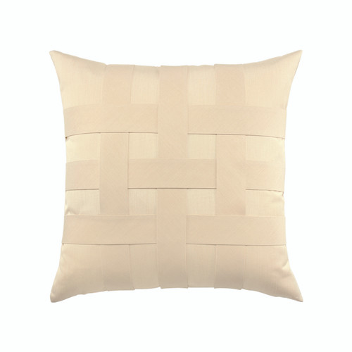Basketweave Ivory