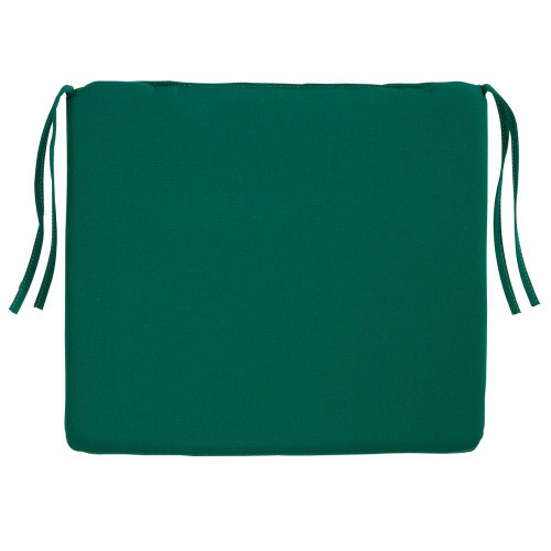 Seat Cushion - Canvas Forest Green
