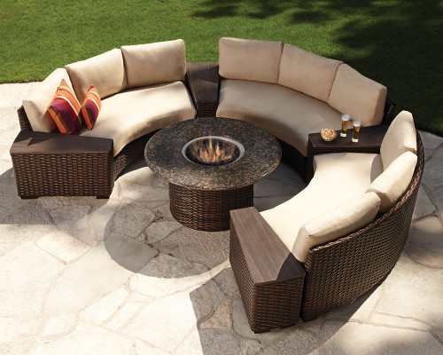 Contempo Curved Sectionals