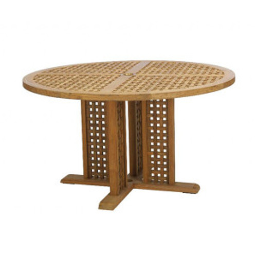 Ocean Teak Round Dining Table