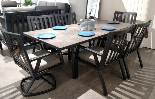 Aris  42in x 84in Rectangular Dining Table