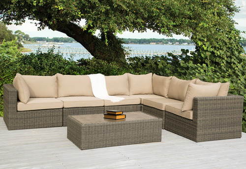 Ashville 7-Piece Sectional Set