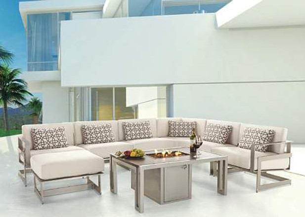 Luxury Patio Furniture by Castelle — Los Angeles Style