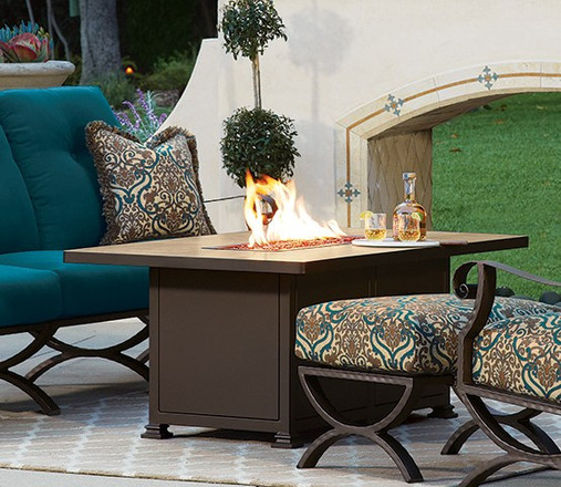 Design your own Fire pit at Pacific Patio Furniture of Los Angeles