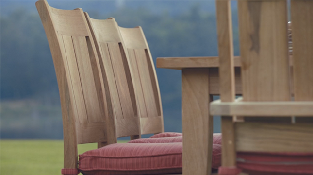 Teak Patio Furniture — Sophisticated Los Angeles Style