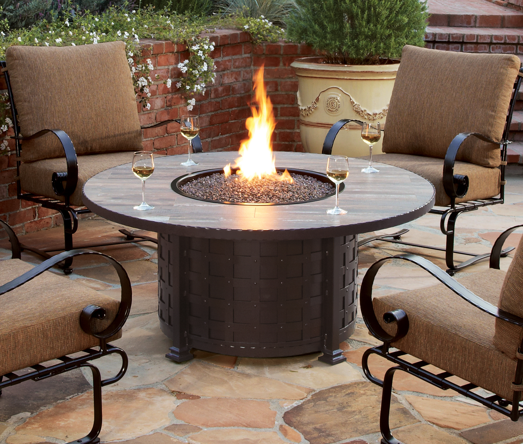 Patio Heaters U0026 Fire Pits   Enjoy The Cool Fall Evenings Outdoors