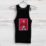 Ariana Grande Red Custom Men Woman Tank Top