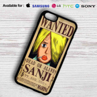 Sanji One Piece Wanted iPhone 5 Case