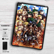 Attack on Titan Shingeki no Kyojin Characters iPad Samsung Galaxy Tab Case