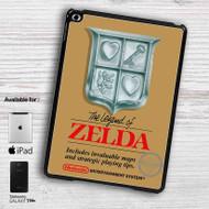 The Legend of Zelda Nintendo NES Game iPad Samsung Galaxy Tab Case