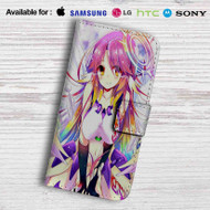 No Game No Life Shiro Leather Wallet iPhone 6 Case