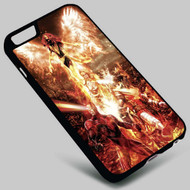 X-Men The Phoenix Force Jean Grey on your case iphone 4 4s 5 5s 5c 6 6plus 7 Samsung Galaxy s3 s4 s5 s6 s7 HTC Case