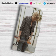 Cody simpson Flower Leather Wallet Samsung Galaxy S6 Case