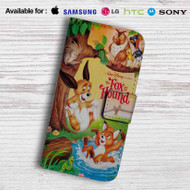 Disney The Fox and the Hound Leather Wallet Samsung Galaxy S6 Case