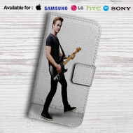 Hunter Hayes Guitar Leather Wallet Samsung Galaxy S6 Case