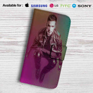 Nicky Romero DJ Leather Wallet Samsung Galaxy S6 Case