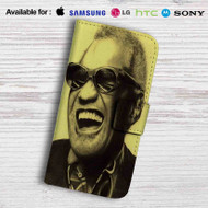 Charles Glasses Leather Wallet Samsung Galaxy S6 Case