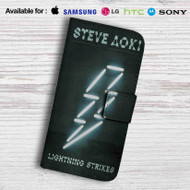 Steve Aoki Leather Wallet Samsung Galaxy S6 Case