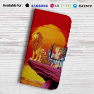The Lion King Characters Disney Leather Wallet Samsung Galaxy S6 Case