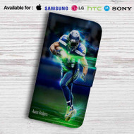Aaron Rodgers Leather Wallet Samsung Galaxy S7 Case