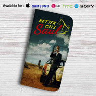 Better Call Saul Leather Wallet Samsung Galaxy S7 Case