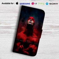 Daredevil The Man Without Fear Leather Wallet Samsung Galaxy S7 Case