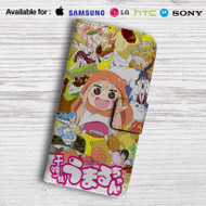 Himouto Umaru-chan Happy Face Leather Wallet Samsung Galaxy S7 Case