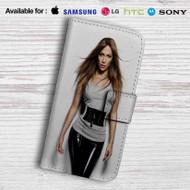 Jennifer Lopez Leather Wallet Samsung Galaxy S7 Case