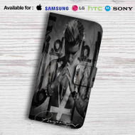 Justin Bieber Purposes Leather Wallet Samsung Galaxy S7 Case
