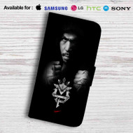 Manny Pacquiao Leather Wallet Samsung Galaxy S7 Case