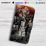 The Last of Us Leather Wallet Samsung Galaxy S7 Case
