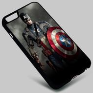 Captain America The Avengers Superhero on your case iphone 4 4s 5 5s 5c 6 6plus 7 Samsung Galaxy s3 s4 s5 s6 s7 HTC Case