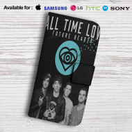 All Time Low Future Hearts Leather Wallet Samsung Galaxy Note 5 Case