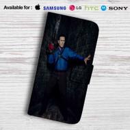 Ash vs Evil Dead Leather Wallet Samsung Galaxy Note 5 Case