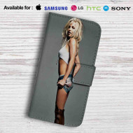 Britney Spears Leather Wallet Samsung Galaxy Note 5 Case