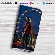 Dave Grohl Foo Fighters Concert Leather Wallet Samsung Galaxy Note 5 Case