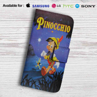 Disney Pinocchio Classic Leather Wallet Samsung Galaxy Note 5 Case