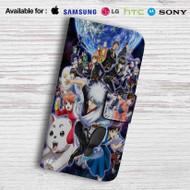 Gintama Yoshiwara Leather Wallet Samsung Galaxy Note 5 Case